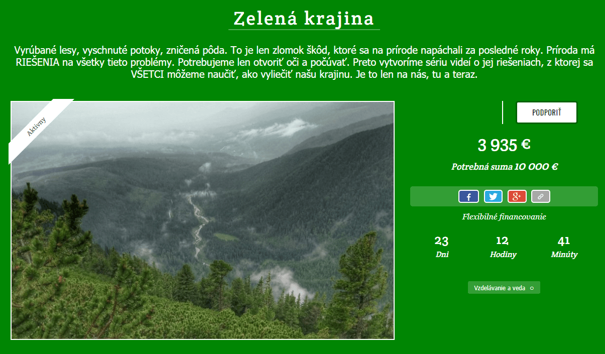 zelena krajina