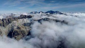 Vysoké Tatry z hora